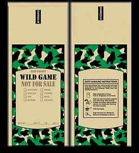 Poly Meat Bags Wild Game 2 Lb Case Of 1000 Camo Chub Freezer Stuffing