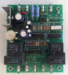 Cissell Model Tu12874 Advance Reversing Timer Control Board For Clothes Dryer