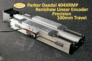 Parker Daedal Precision 404xrmp100 With Renishaw Encoder