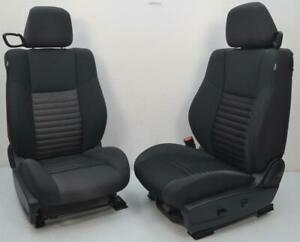2012 2013 2014 2015 2016 2017 Dodge Challenger Front Cloth Seats