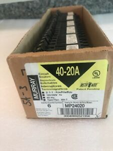 Murray40 20 Amp Quad Breaker Brand New Mp24020