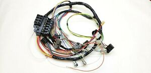 1960 Impala Belair Biscayne El Camino Under Dash Wiring Harness Fuse Box Manual