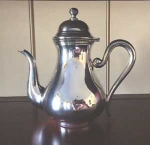 Beautiful Sterling Silver Small Coffee Pot Vintage Unused