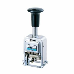 Lion Office Products Inc Pro line Heavy duty Automatic Numbering Machine 5