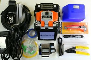 Sumitomo Type 71c Sm Mm Fiber Fusion Splicer W Cleaver Fc 6rs Arc Only 8290