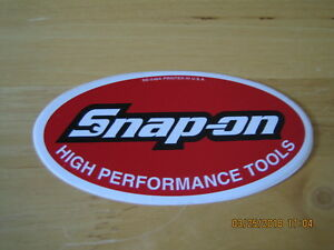 New Vintage Snap On Tools Snap On Tool Box Sticker Decal Ss548a