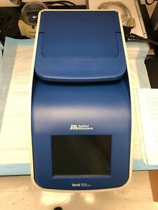 Abi Veriti 384 Well Block Pcr Thermal Cycler year 2013 Less 12 Hrs On Cycler