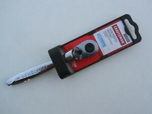 New Craftsman 44994 Ratchet Quick Release Thin Profile 1 4 Drive Polished