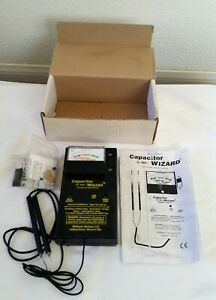 Capacitor Wizard Esr Tester With Svr Kit In Original Box With Manual
