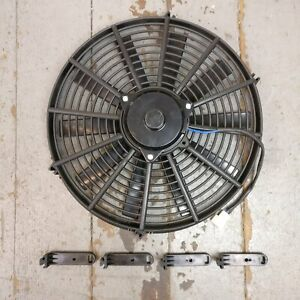 1935 Oldsmobile F 35 14 Inch Performance Radiator Fan Performance Cooling Slim
