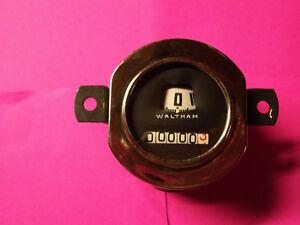 Model A Ford Waltham Round Rebuild Speedometer 30 31 Guaranteed Sale