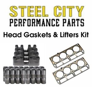 Chevy Performance Ls7 Lifters Ls1 Ls6 Head Gaskets Kit 4 8 5 3 5 7