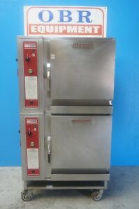 Blodgett Double Stacked Convection Combi Oven Model Bcs 6 Mfg 2007