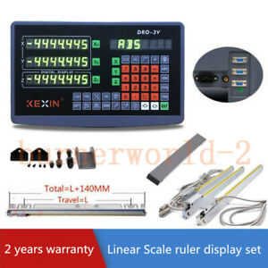 2 3 Axis Dro Digital Readout Display For Milling Lathe Machine ttl Linear Scale