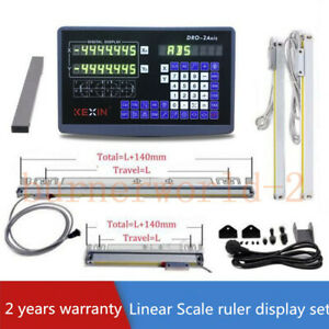 2 Axis Digital Readout Linear Scale 900 300mm Dro Ruler Milling Drilling Machine