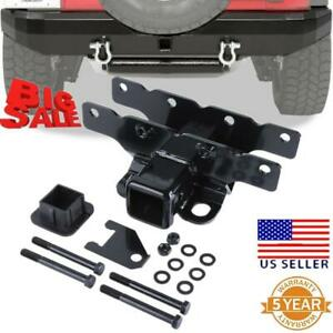 2 Rear Towing Receiver Trailer Hitch W Cover For Jeep Wrangler Jl Jlu 2018 19