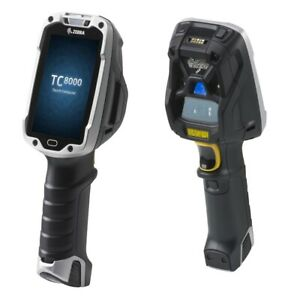 Zebra Tc8000 Premium 2d Long Range Barcode Scanner Nfc Android Tc80nh 3101k420in