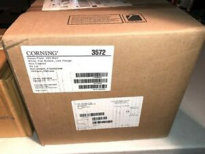 New Corning 384 well Assay Plates Low Flange Nonsterile cs50 cat 3572