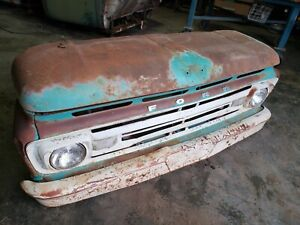 1960 61 62 63 64 65 66 Ford Truck Front Stub Wall Hanger Man Cave Project F100