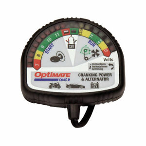 Tecmate Optimate Ts 121 Charge Cranking Alternator Tester For Lithium Battery
