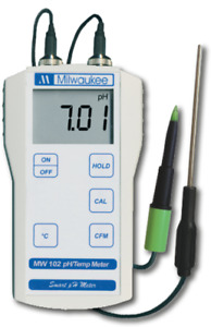 Milwaukee Mw102 W Ma920 Ph Temp Meter Food Probe For Meat Cheese Dairy Products