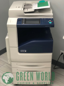 Xerox Workcentre 7220 Multi function Color Tabloid Copier printer 12k 2 Trays