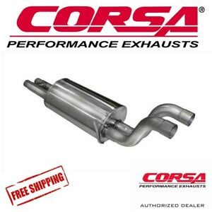 Corsa 3 Muffler Exhaust Upgrade Fits 2017 2019 Ford Raptor Ecoboost 3 5l