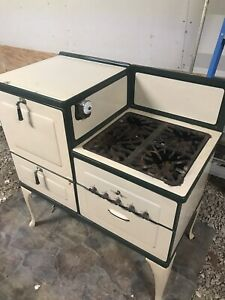 Antique Detroit Jewel Kitchen Stove Natural Gas Circa 1920 1930 S