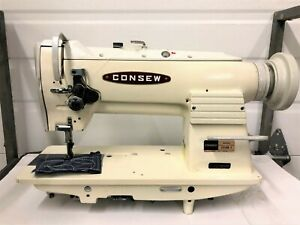 Consew 255rb 2 Walking Foot Big Bobbin Reverse Industrial Sewing Machine