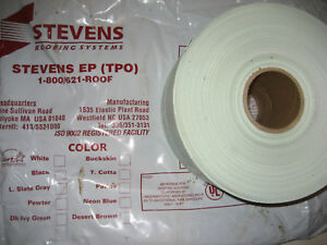 6 X 150ft Roll Genuine Jp Stevens Ep Tpo White Roof Seam Tape Splice