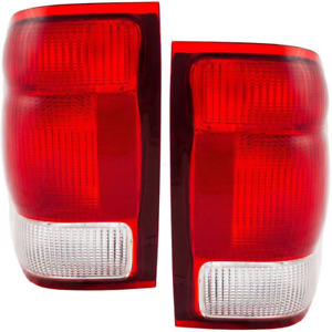 Fits For 2000 Ford Ranger Tail Lights Pair Driver And Passenger Side