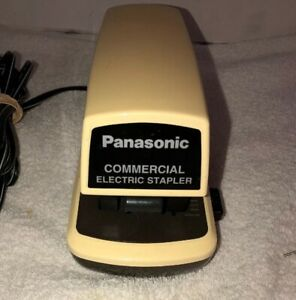 Panasonic As 300n Automatic Commercial Electric Stapler Tested Working 25 Pages