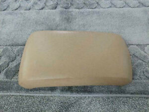 2007 2010 Ford Edge Center Console Cover Lid Arm Rest Tan Beige Brown Cashmere