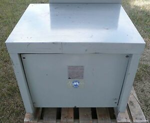 Acme T 1a 53313 3s Transformer High Voltage 480 Kva 45