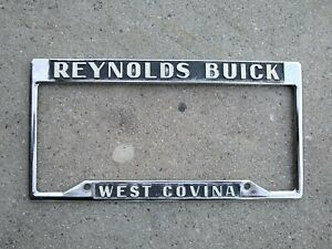 Reynolds Buick License Plate Frame Gs Gsx Stage 1 455 1970 1971 Riviera 1969 68