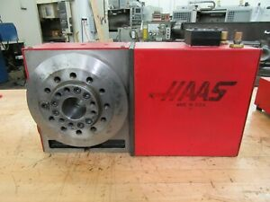 Haas Hrt a6 Programmable Rotary Table With A2 6 Work Pallet Brush Drive Motor