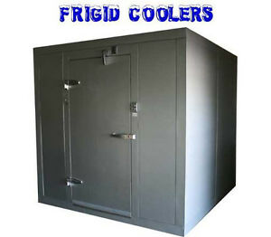 Walk In Cooler New 8 X 8 And Remote Indoor Refrigeration