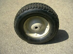New Tire Wheel 9 75 X 3 25 Golf Cart Utility Lawn Tractor Mower Wheel