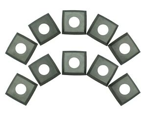 Rikon 25 699 Carbide 4 edge Helical Cutter Inserts For Planer Jointers Pack 10