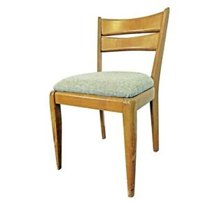 Mid Century Modern Heywood Wakefield Cat S Eye Champagne Side Dining Chair 151