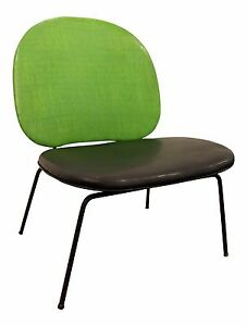 Mid Century Danish Modern Paul Mccobb Style Lime Green Wire Side Accent Chair