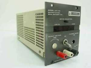 Lambda Electronics Regulated Power Supply 0 40 V 1 0 Amps Lq 412 As Is