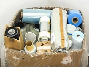 Lot Of 850 Lbs Assorted Solar Panel Manufacturing Material Rolls Encapsulate