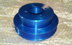Foxbody Mustang 5 0 302 Kenne Bell 8 Rib Supercharger Crank Pulley
