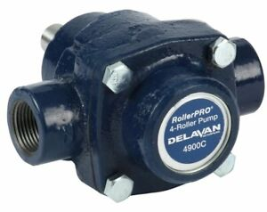 Delavan 4900c 9 2 Gpm Pump Cast Iron 5 8 Solid Shaft Clockwise Rotation