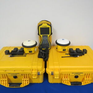 Trimble Sps985 Base And Rover System Tsc3 Pre owned