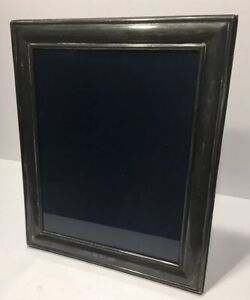 Large Antique British Sterling Silver Rectangle Picture Frame 1915
