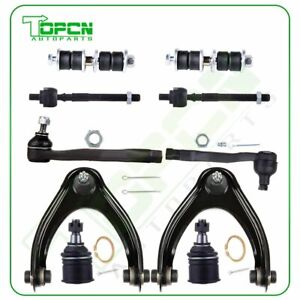 New 10pc Complete Front Suspension Kit Tie Rod End For Honda Civic And Acura El