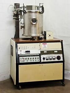 Ion Tech Id 3500 Advanced Energy W large Bell Jar Ion Beam Coater Evaporator