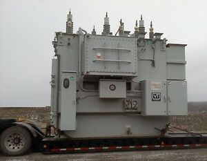 Substation Transformer 39 52 65 Mva W load Tap Changing New Surplus